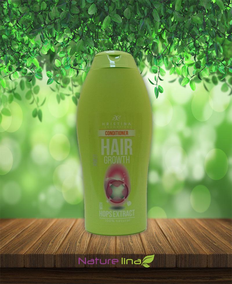 Балсам за коса с екстракт от хмел за растеж