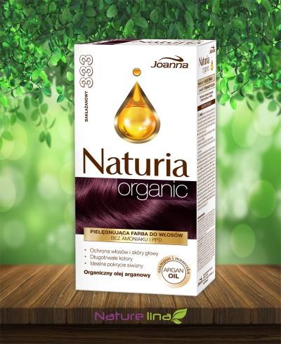 Безамонячна боя за коса Naturia Organic - 333 Патладжан