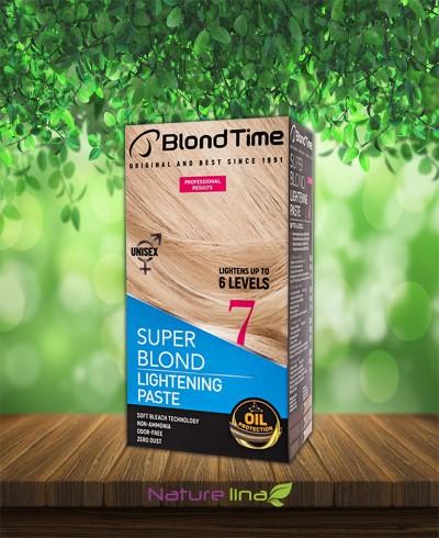 Изрусяваща паста  Super Blond Lightening Paste Blond Time