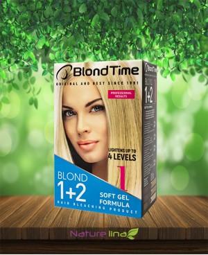 Изрусяващ продукт за коса Blond Time Blond 1+2
