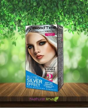 Изрусяващ продукт за коса  Silver Effect  Blond Time