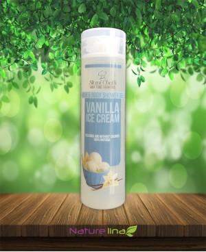 Душ гел за коса и тяло Ванилов сладолед