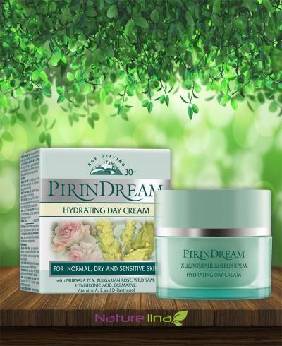 Хидратиращ дневен крем Pirin Dream