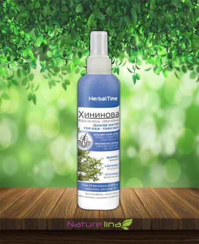 Хининова вода за коса - обогатена