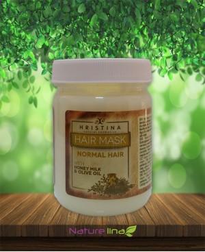 Маска за нормална коса с мед, мляко и зехтин