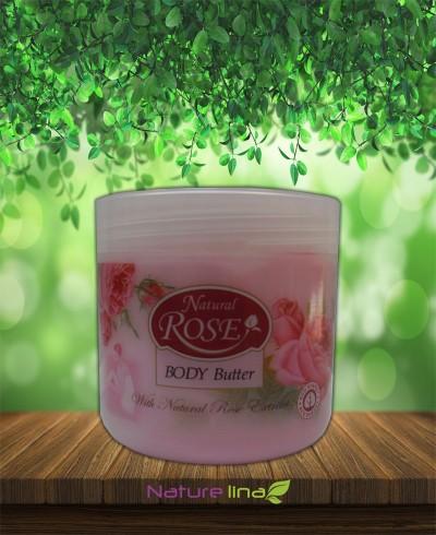 Масло за тяло Натурална роза