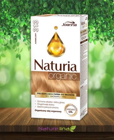 Безамонячна боя за коса Naturia Organic - 313 Карамел