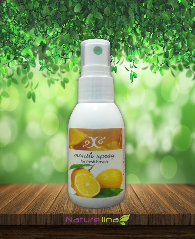 Освежител за уста с прополис лимон