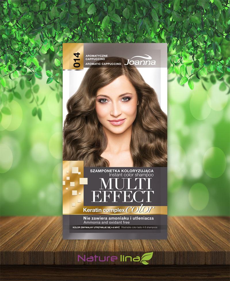 Шампоан оцветител Multi Effect 14 - ароматно капучино