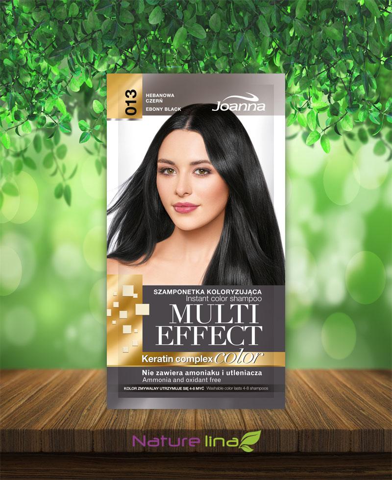 Шампоан оцветител Multi Effect 13 - черно