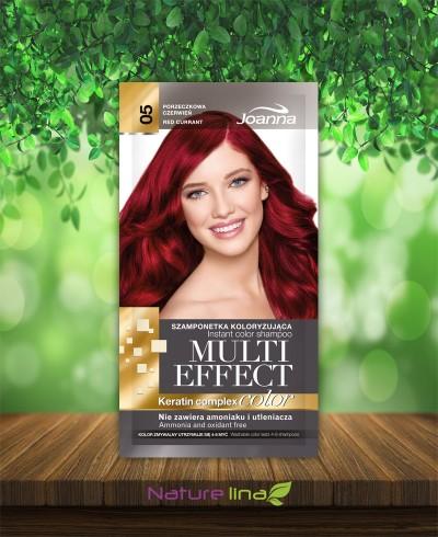 Шампоан оцветител Multi Effect 05 - червена боровинка