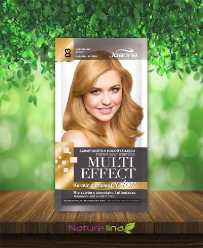 Шампоан оцветител Multi Effect 03 - естествено русо