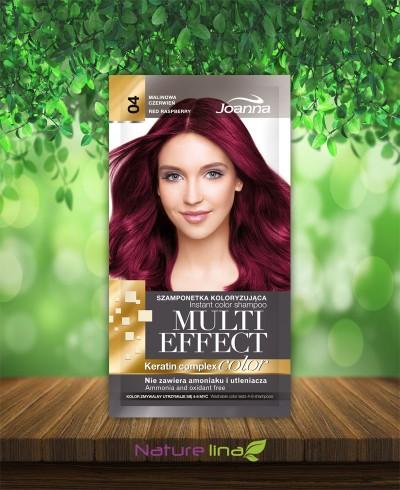 Шампоан оцветител Multi Effect 04 - малиново червено