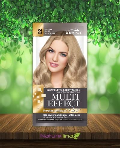 Шампоан оцветител Multi Effect 02 - перлено русо