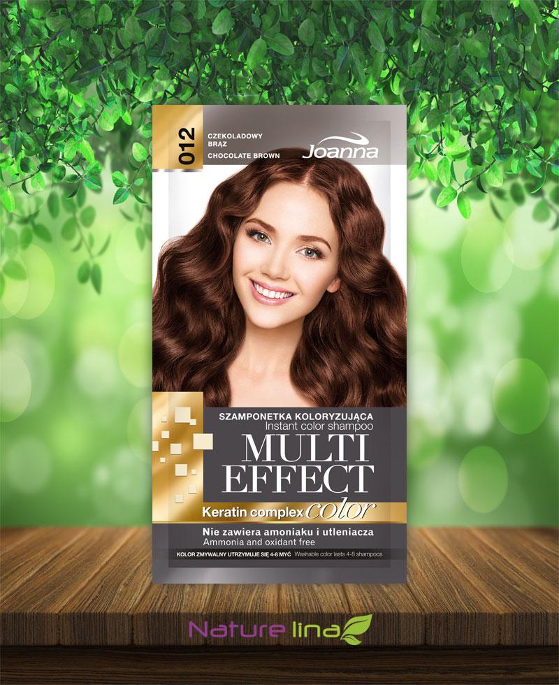 Шампоан оцветител Multi Effect 12- шоколадово кафяво