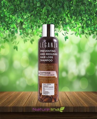 Шампоан за предотвратяване и намаляване на косопада LEGANZA