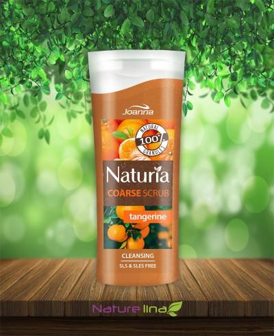 Скраб за тяло едрозърнест - мандарина