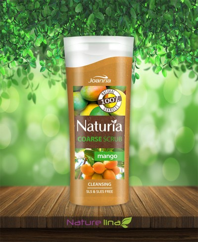 Скраб за тяло едрозърнест - манго