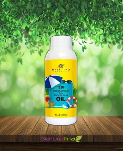 Слънцезащитно масло - 10SPF - Ниска защита