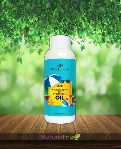 Слънцезащитно масло - 25SPF - Средна защита
